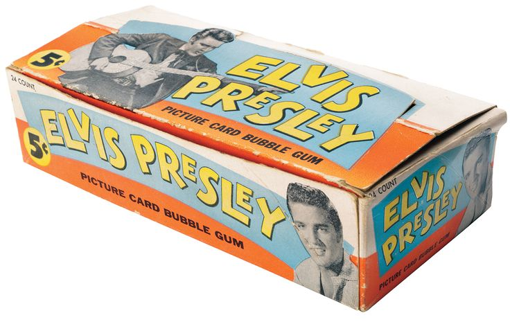 Elvis bubble gum 1956