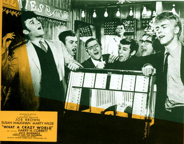 Lobby card for What A Crazy World - Marty Wilde, Joe Brown