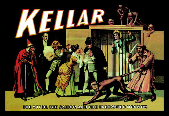 Kellar: The Witch, the Sailor and the Enchanted Monkey