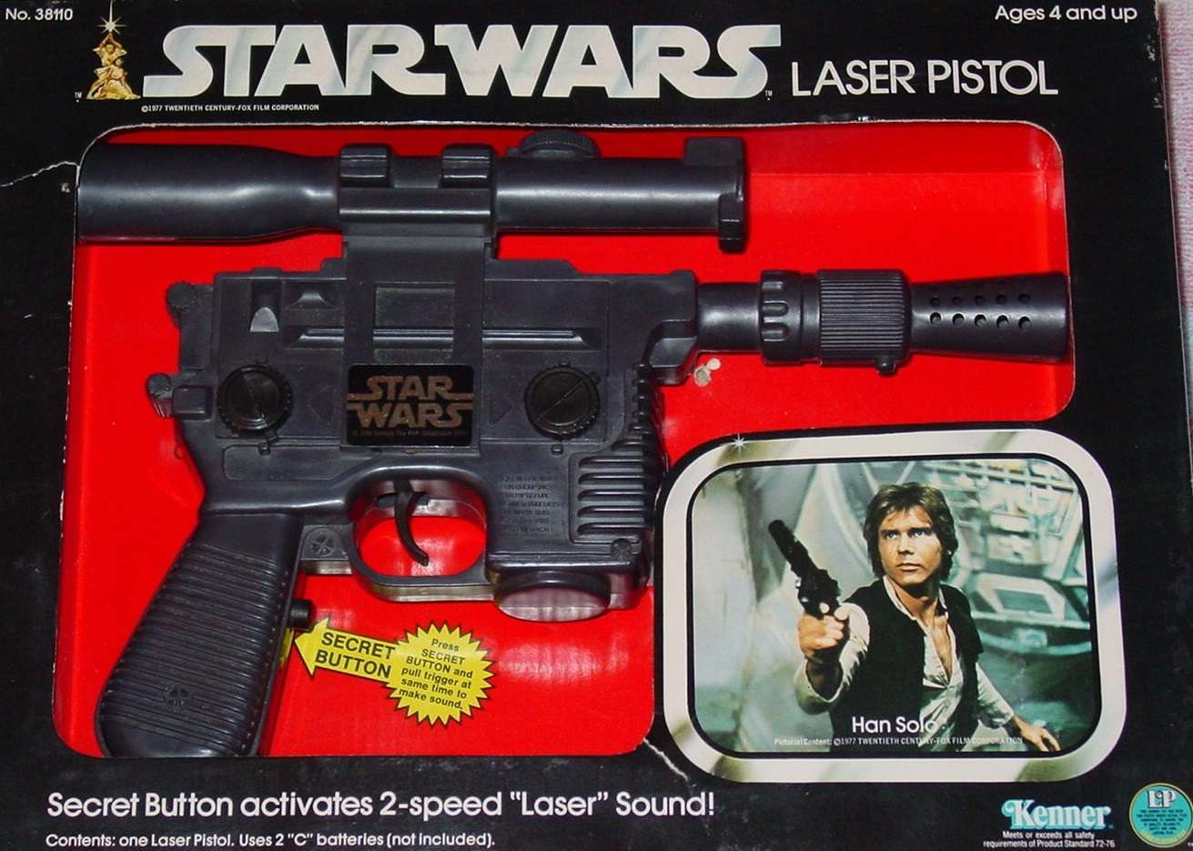 Star Wars Toy Guns : Set phasers to stun the five greatest toy space guns of
