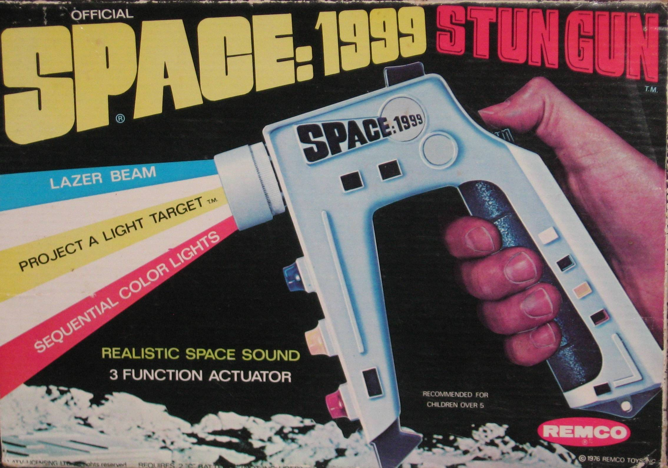 Set Phasers To Stun The Five Greatest Toy Space Guns Of