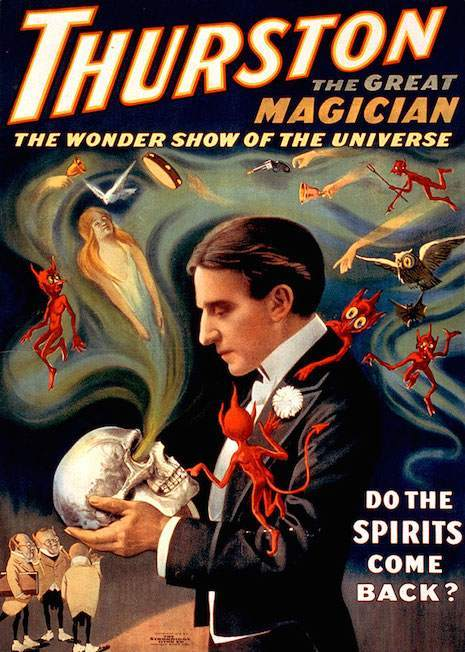vintage magician posters