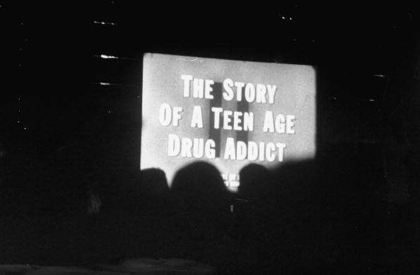 UNITED STATES - CIRCA 1951:  Film depicting the downfall of a high school reefer smoker shown during anti-drug crusade.  (Photo by Ralph Morse/The LIFE Picture Collection/Getty Images)
