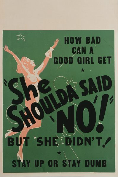 A poster for Sam Newfield's 1949 drama 'Wild Weed' starring Lila Leeds. (Photo by Movie Poster Image Art/Getty Images)