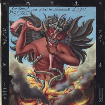 31 Visions of Hell, Satan, Demons And Cabbalistic Signs From A 1775 Compendium Of Horrors