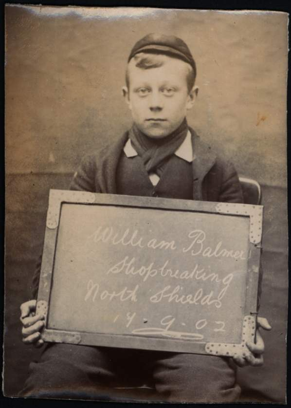 Name: William Balmer Arrested for: Shopbreaking Arrested at: North Shields Police Station Arrested on: 17 September 1902