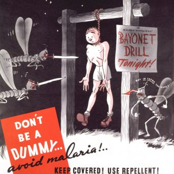 Japs, Japes And Dr Seus: US Anti-Malaria Warning Posters From World War 2