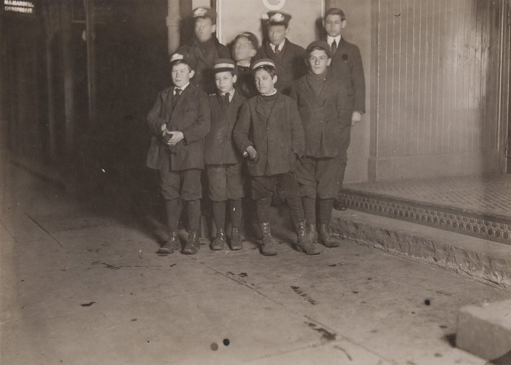 Messenger Boys, New Haven, Conn. - March