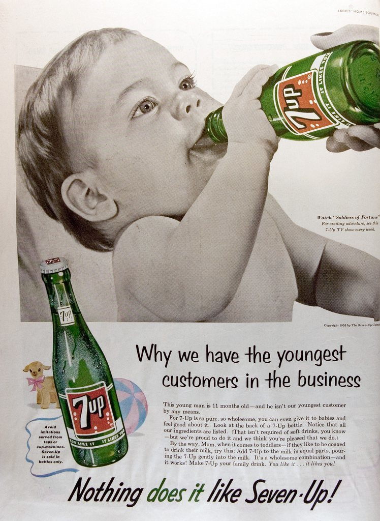 7Up child advert
