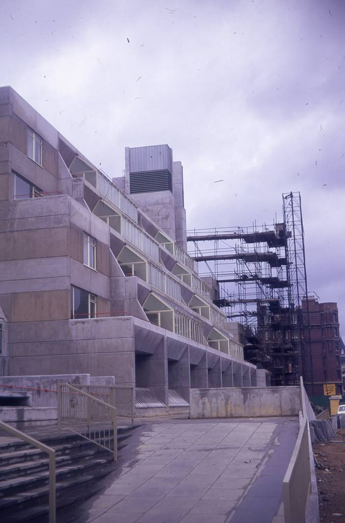 Brunswick Centre being constructed April 1972, photo by  JR James