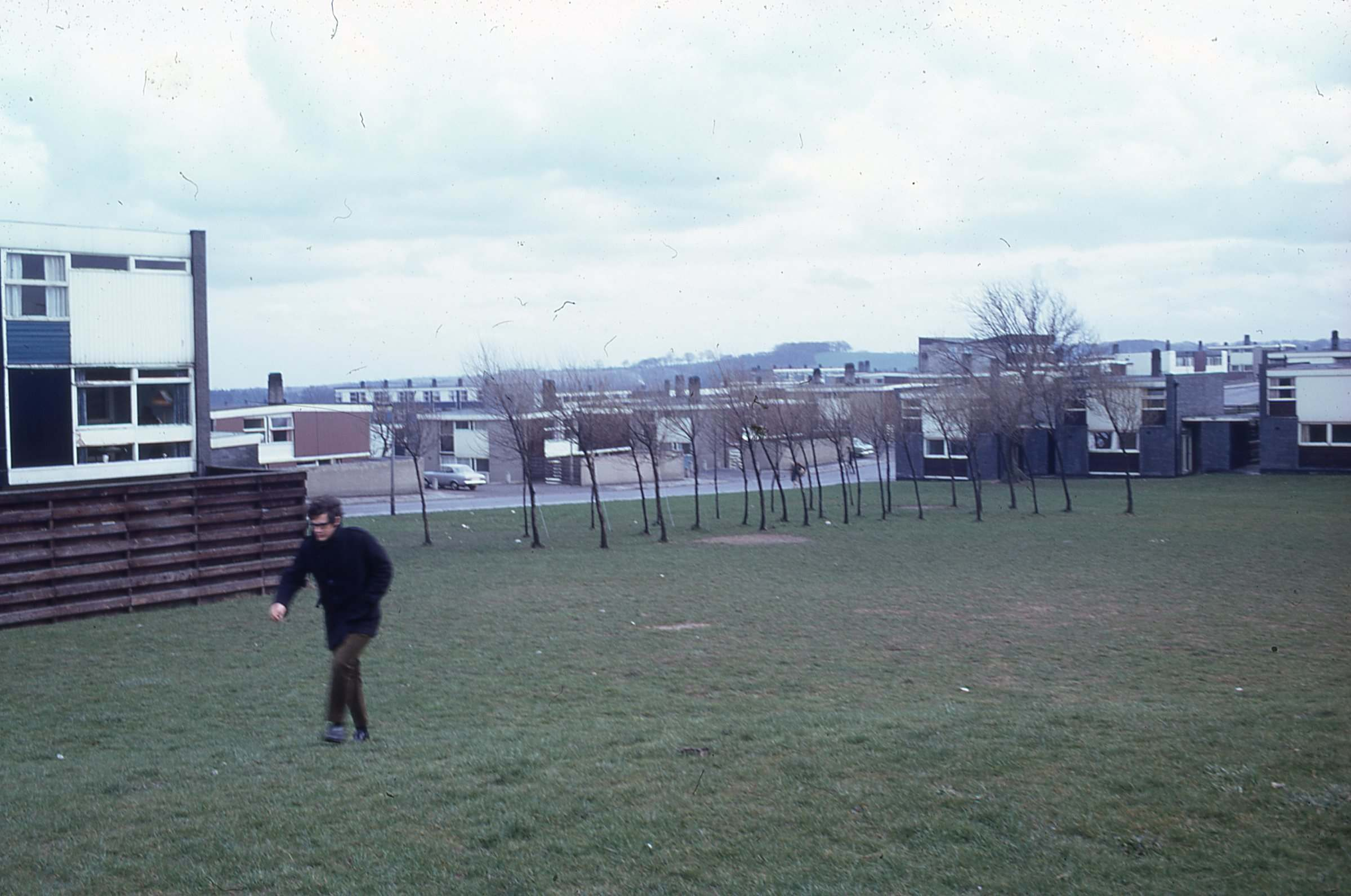 Housing designed by architect Victor Pasmore around 1970 in Peterlee 3