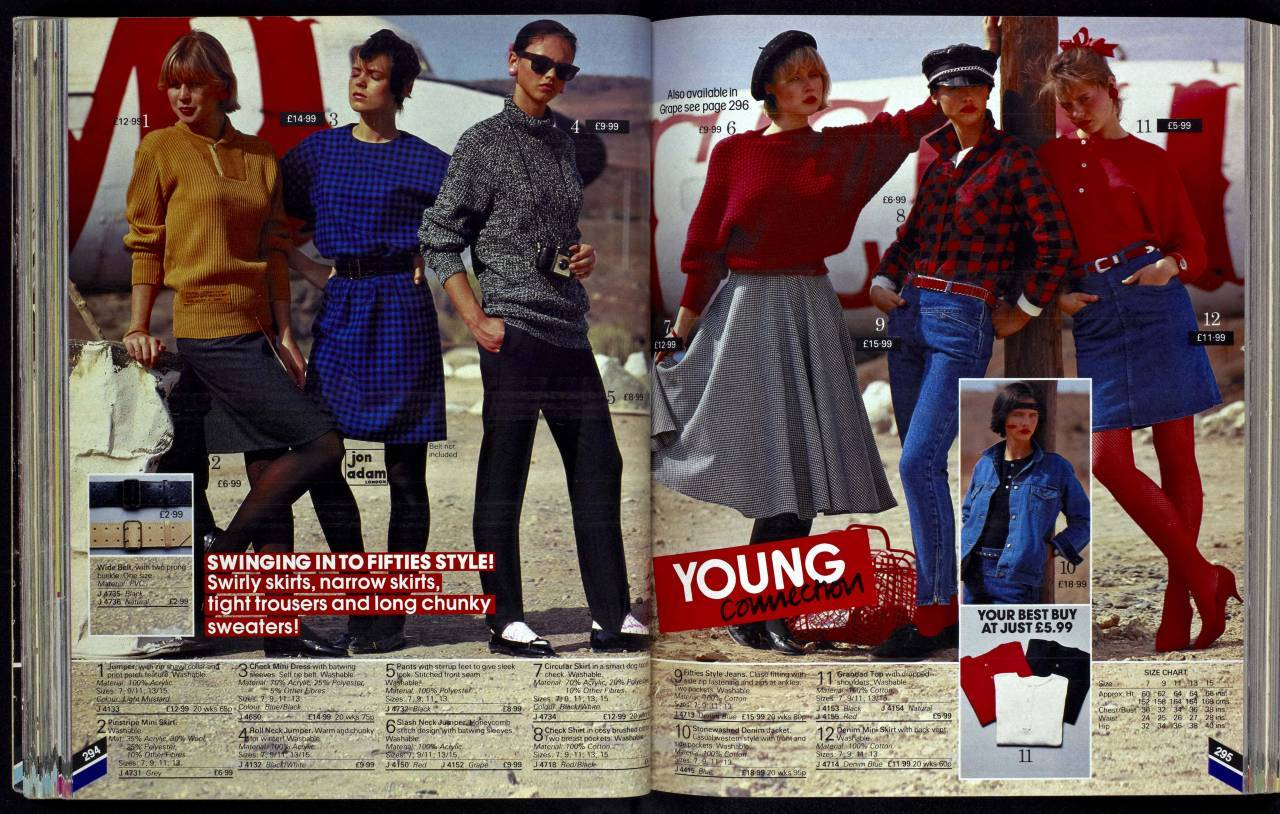 Kays Young Women 1983