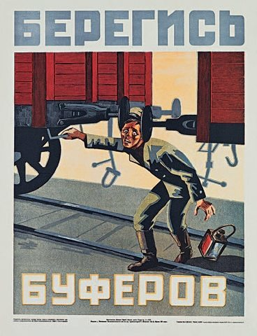 soviet posters safety