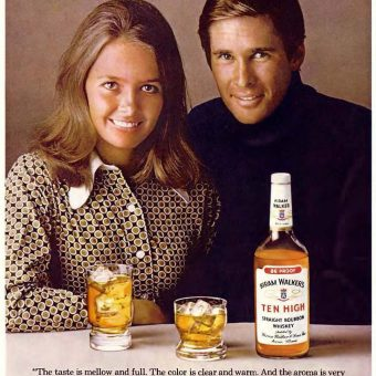 Happy Couples Selling Booze: Vintage Alcohol Adverts of the 1970s