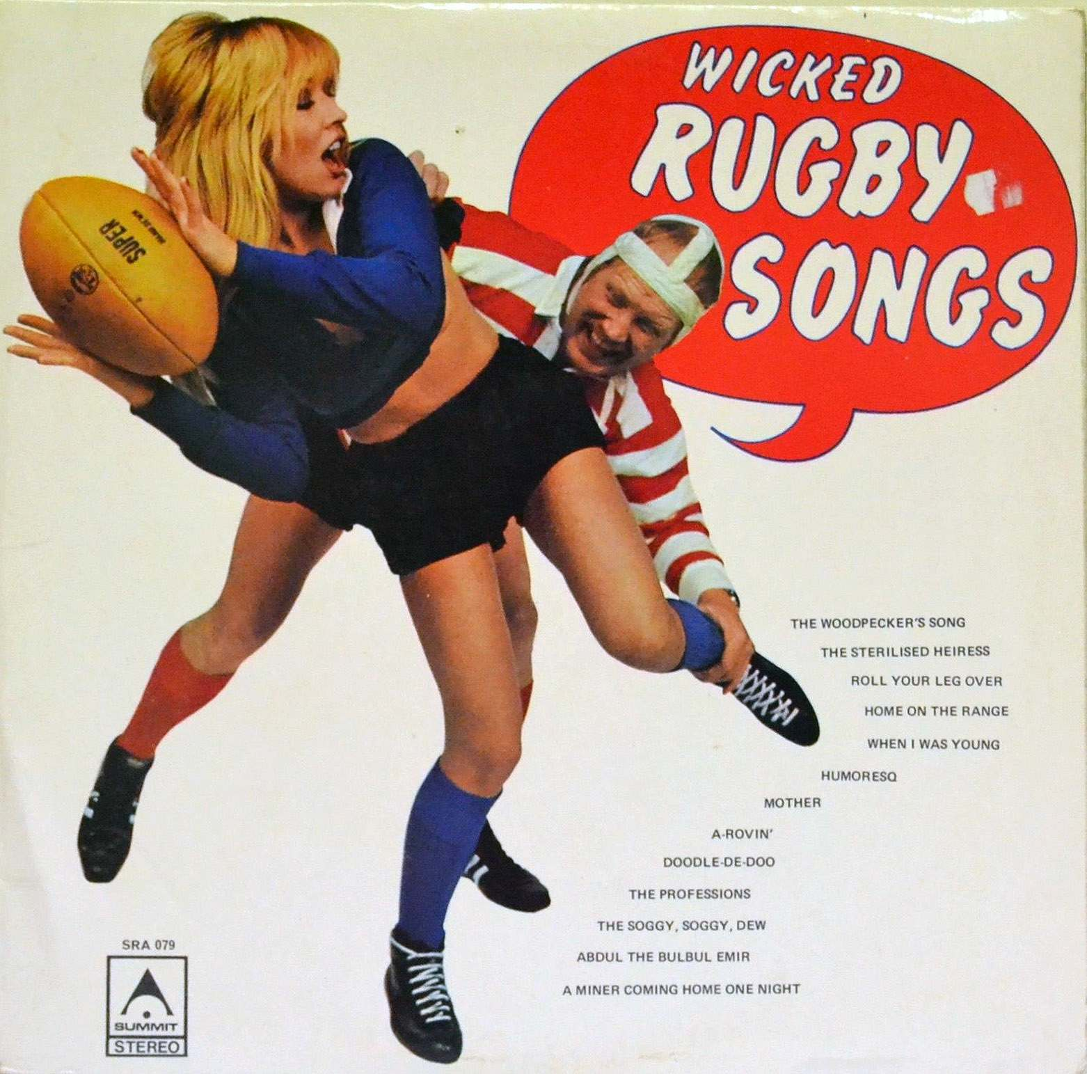 Shower-Room Squad, Wicked Rugby Songs, 1973