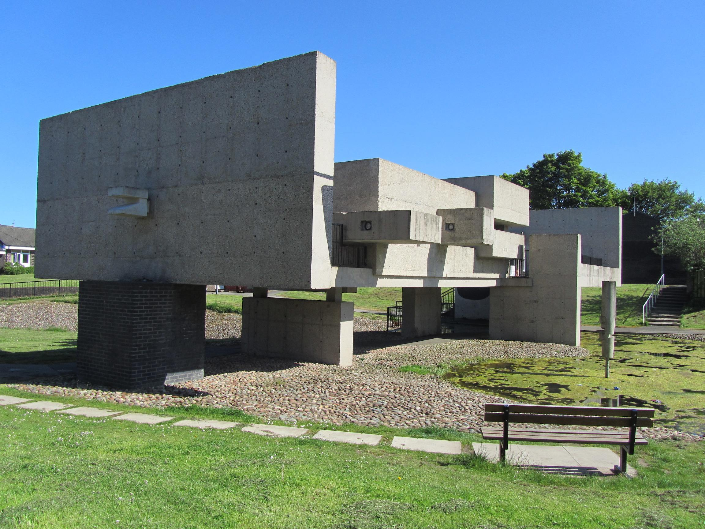 Victor Pasmore's Apollo Pavilion flickr.com:photos:ilike: