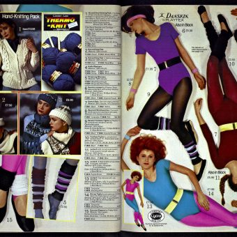 19 Glorious Pages of Womenswear from the Kays Catalogue of 1983