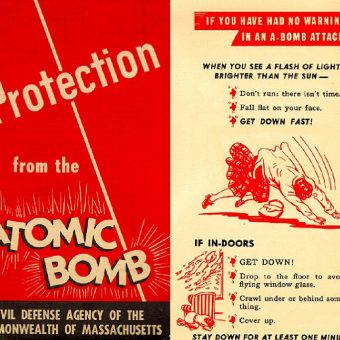 Stay Calm!  It's Just Nuclear Annihilation (A 1950 A-Bomb Instructional Pamphlet)