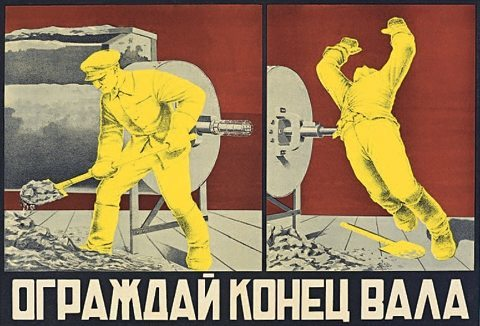 accident poster soviet 3