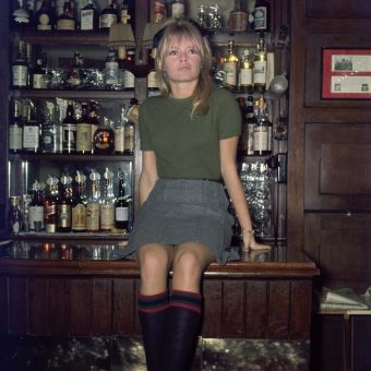 Brigitte Bardot in the Coach and Horses Pub by Ray Bellisario in 1968