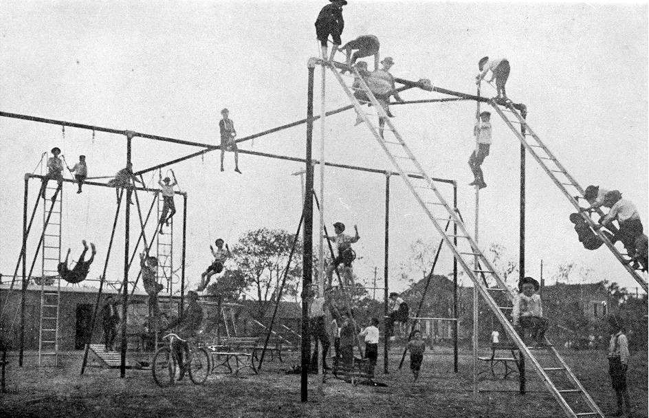 When Playgrounds Were Deadly