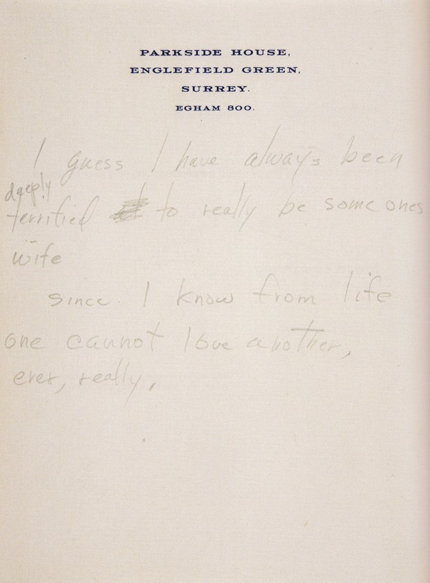 Marilyn Monroe's Unpublished Poems