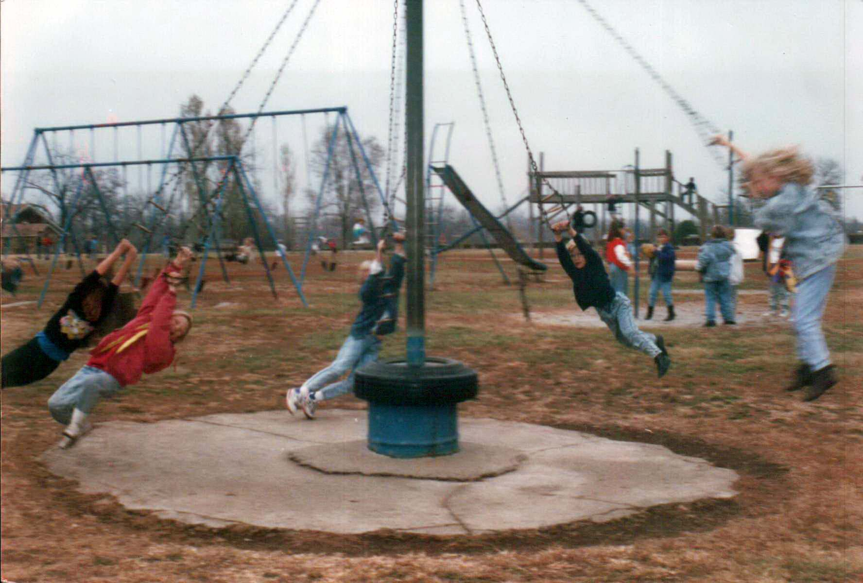 When Playgrounds Were Deadly Flashbak