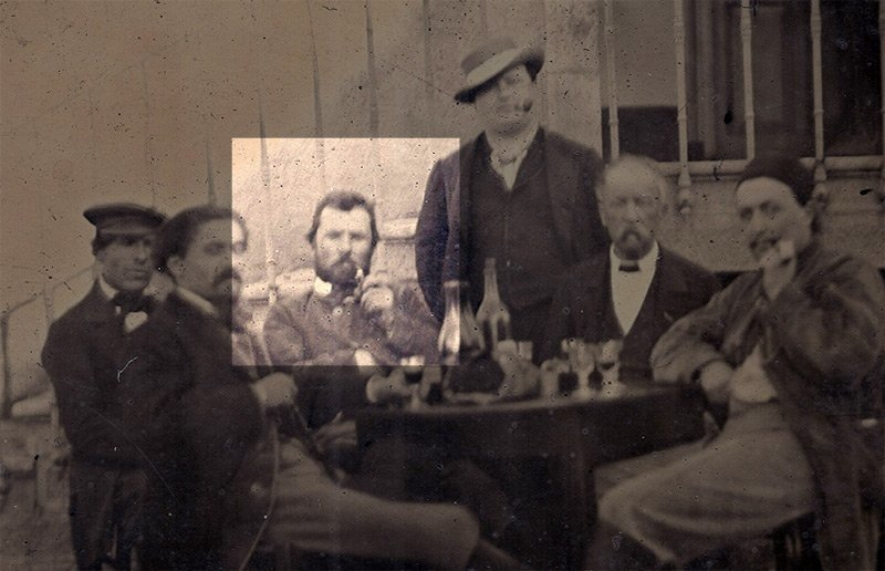 Van gogh photos early
