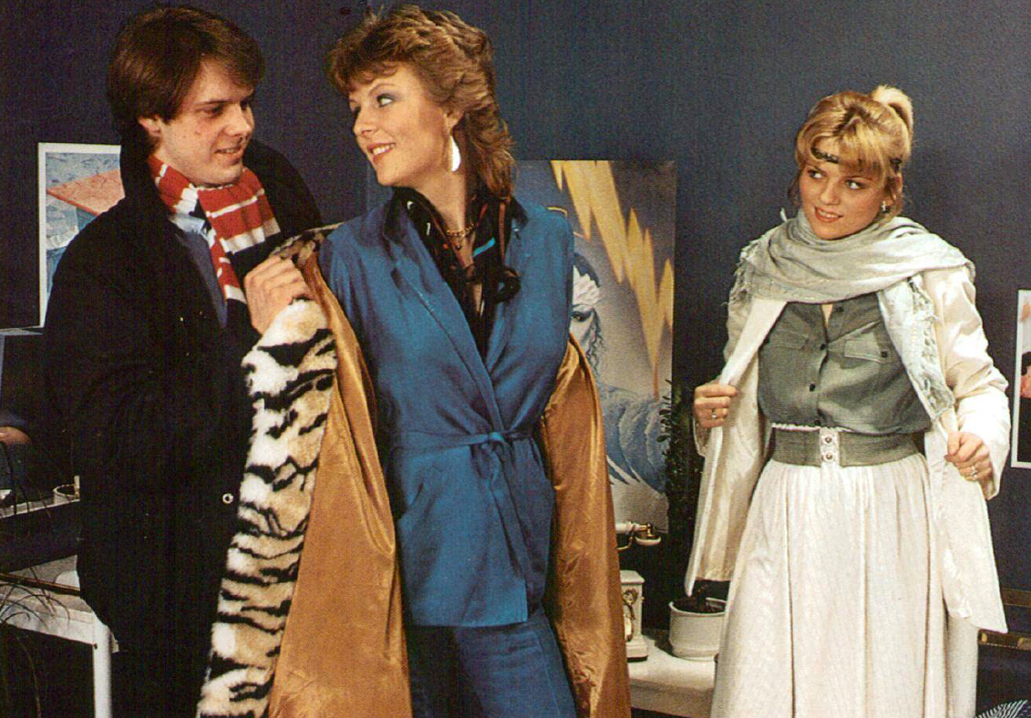 80S Style Porn porn fashions: sleazy styles from the decade of decadence