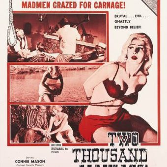 A Confederate Flag-Fanned Playboy Model Gore Fest: Two Thousand Maniacs! (1964)