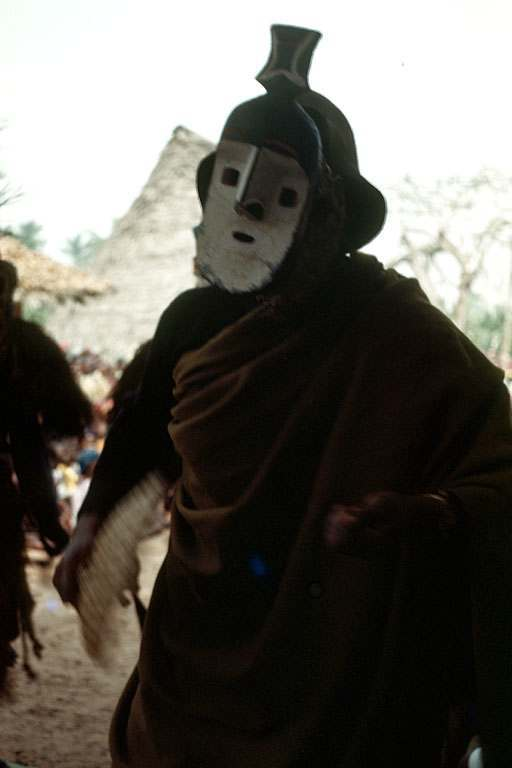 Okumkpa masquerade play, Amuro village, Afikpo Village-Group, Nigeria.
