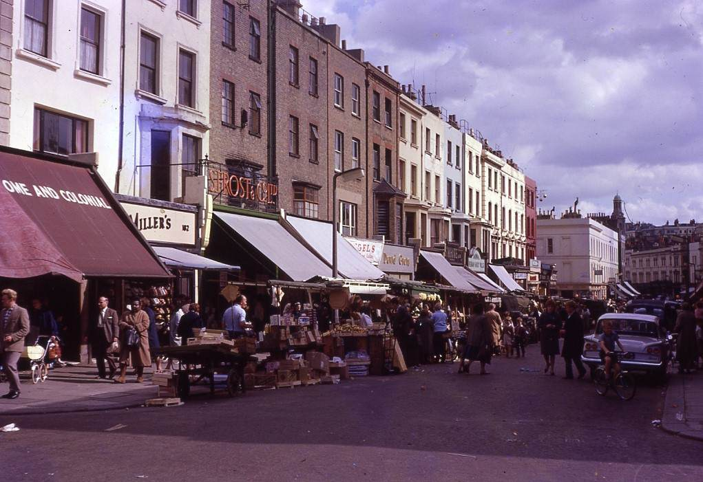 Portobello Road in 1962.