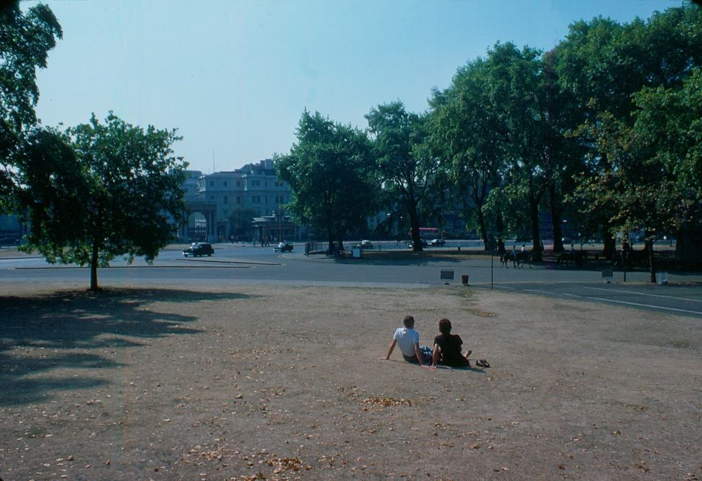 British London's West-End in the Heatwave of '76 Hyde Park