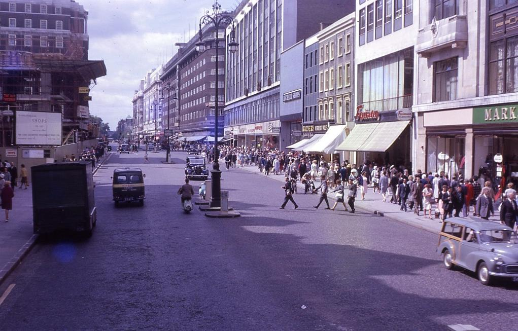 Oxford Street in 1962
