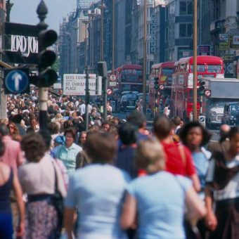 Thirty Pictures of London's West-End in the Heatwave of '76.