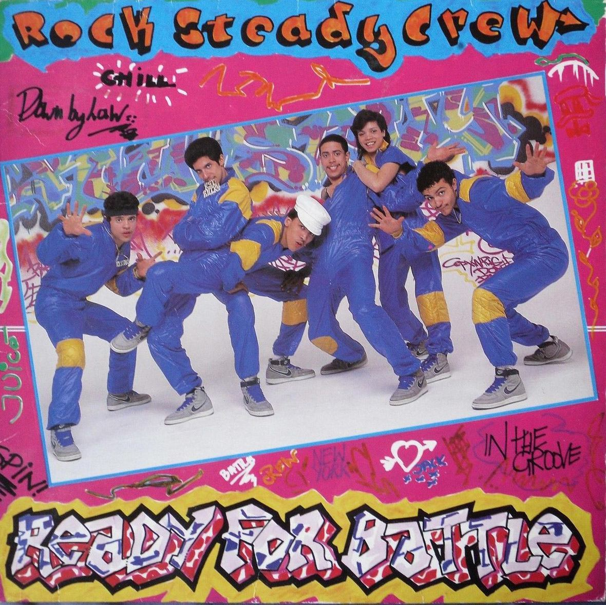 ROCK STEADY CREW Ready For A Battle 1984