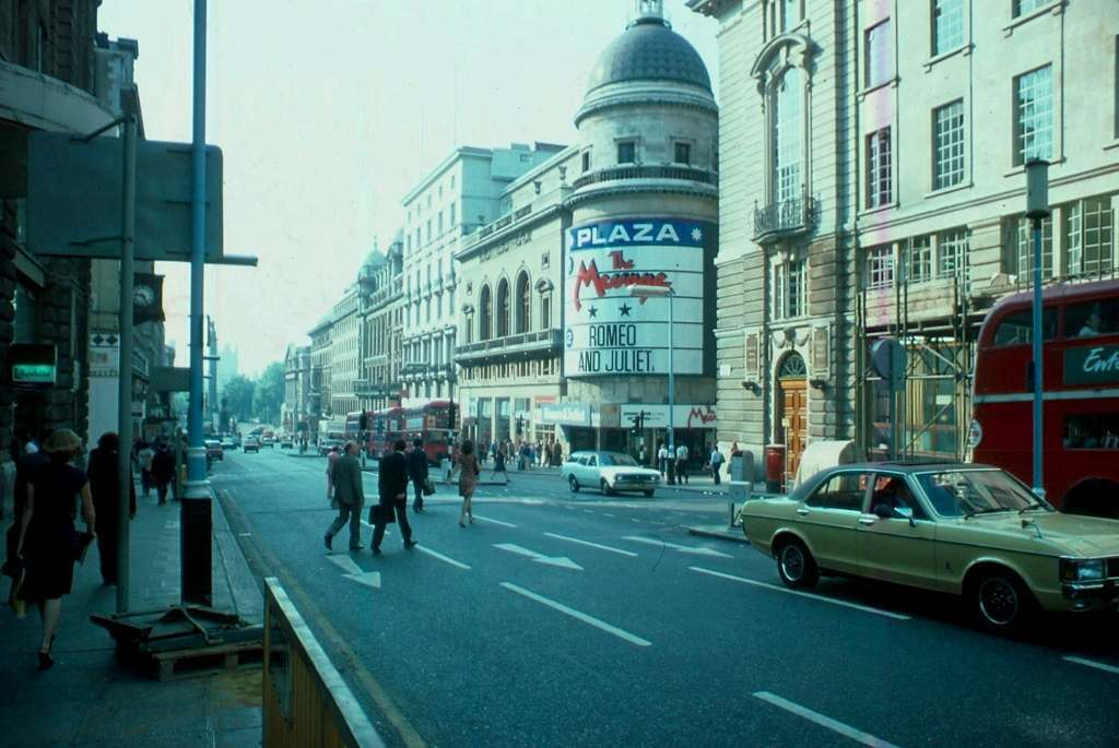 British London's West-End in the Heatwave of '76 Regent Street