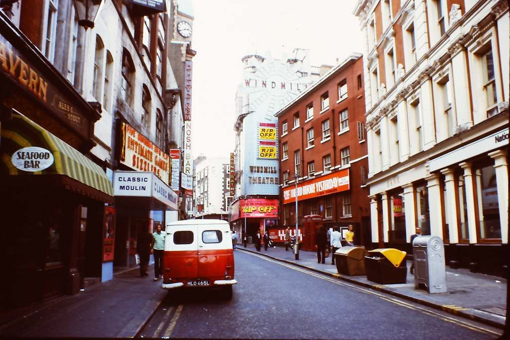 Soho - Great Windmill Street 1976 KH