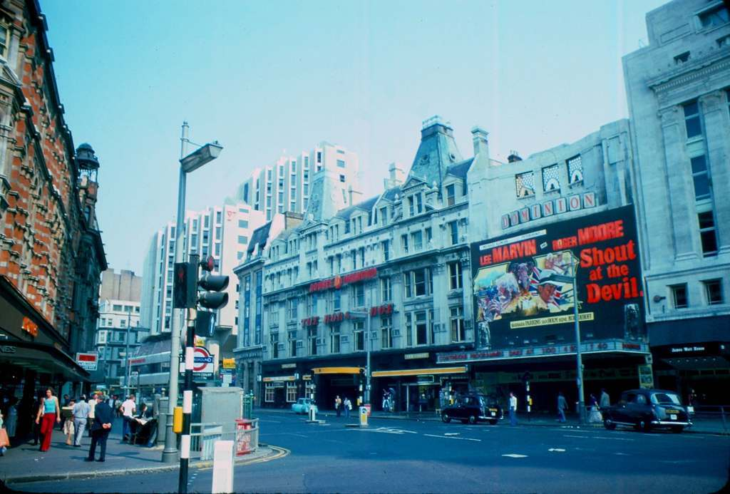 Tottenham Court Road - Dominion Theatre 1976 KH