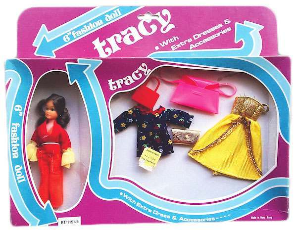 "Tracy ""A Tracy gift set comes with two additional outfits and lots of arrows on the box."""