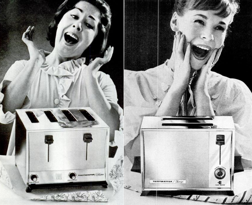 crazy for toasters