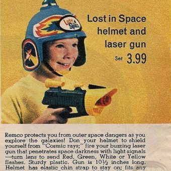 Visors Up! The Golden Age of Toy Space Helmets