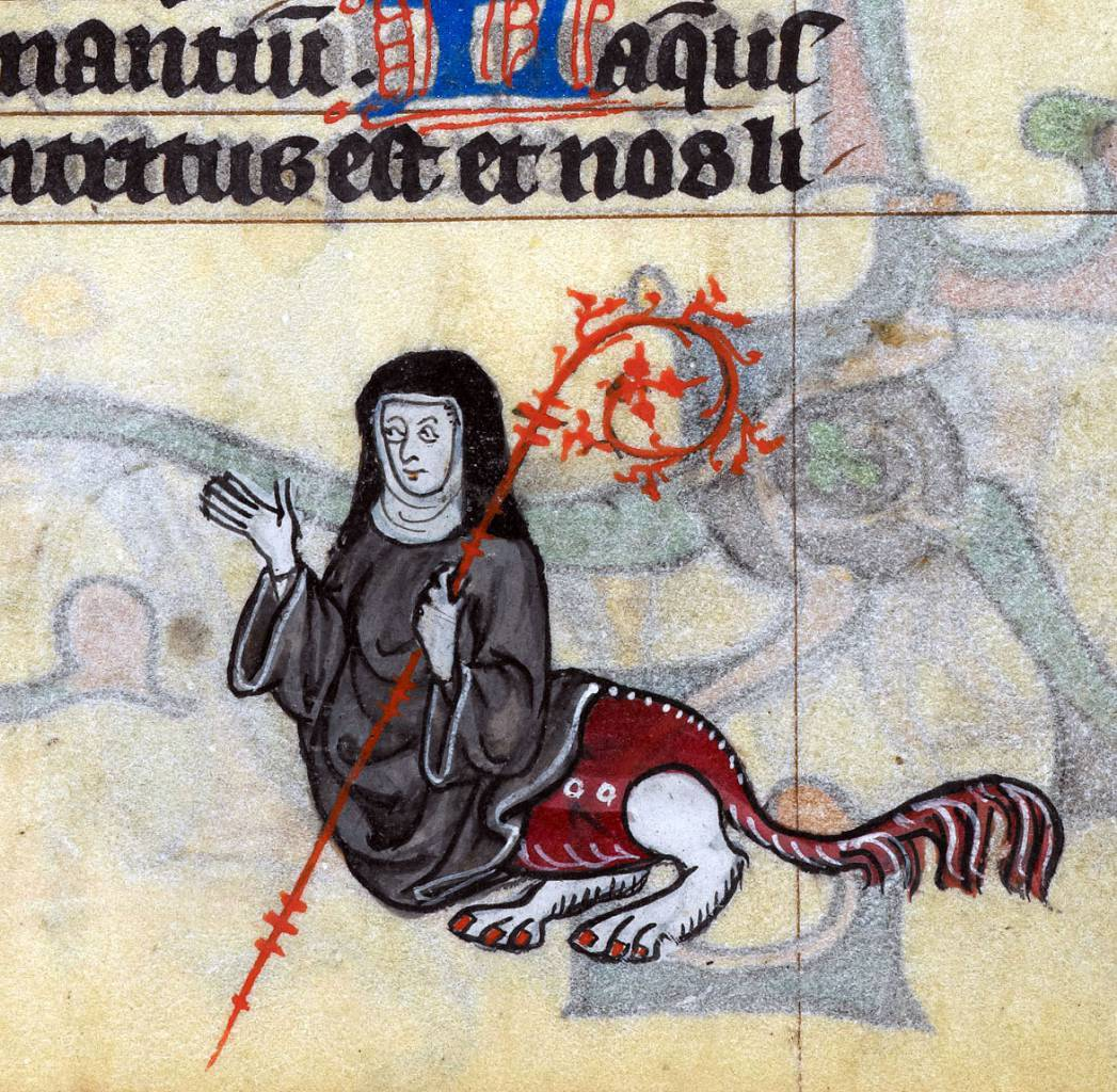 'The Maastricht Hours', Liège 14th century British Library, Stowe 17, fol. 162r