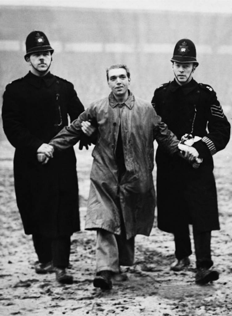 UNITED KINGDOM - JANUARY 21:  Policemen Arresting An Unemployed Demonstrator In London On January 21St 1939  (Photo by Keystone-France/Gamma-Keystone via Getty Images)
