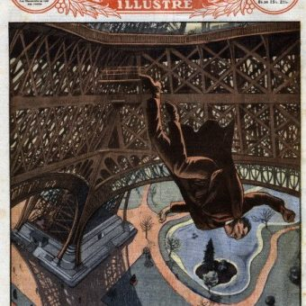 The Spectacular Televised Death Of Franz Reichelt: The Eiffel Tower Base Jumper (1912)