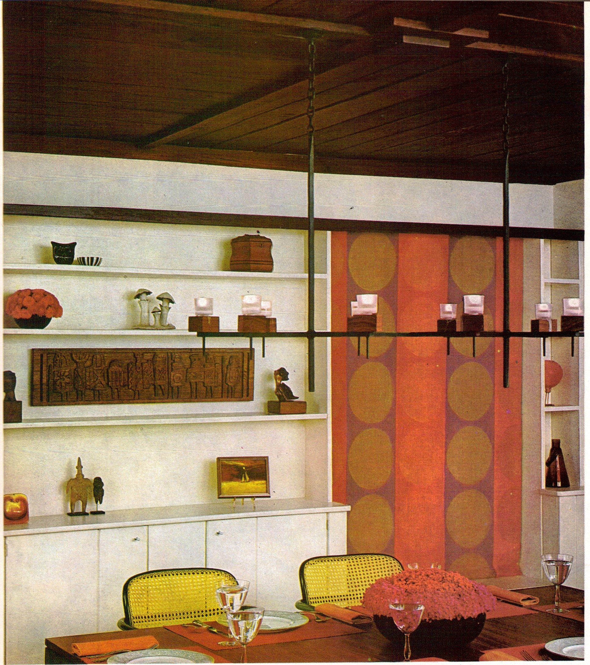 highlights from the 1970 practical encylopedia of good decorating and home improvement flashbak. Black Bedroom Furniture Sets. Home Design Ideas