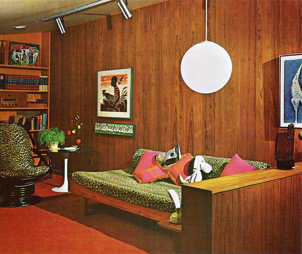 At Home Home Decor: Highlights From The 1970 Practical Encylopedia Of Good
