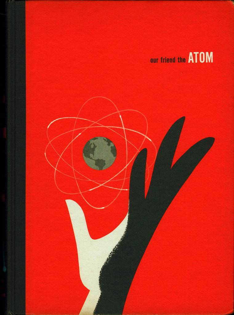 walt disney the atom