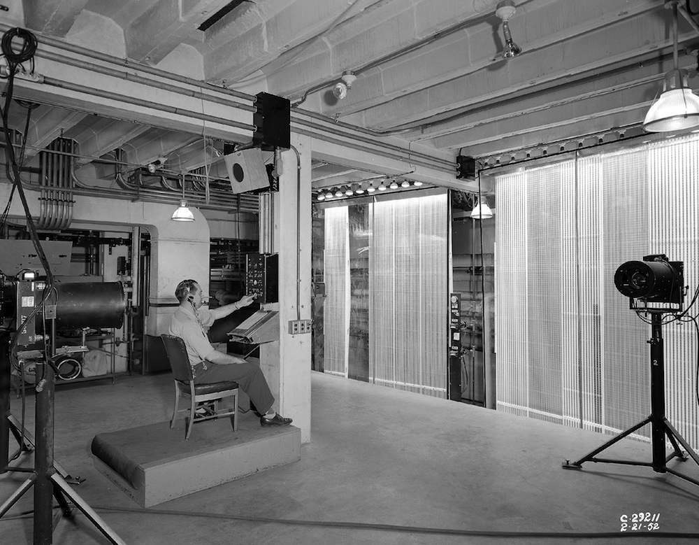8x6-Foot Supersonic Wind Tunnel  (C-1952-29211): The 8 x 6 SWT had the most modern data acquisition and data processing equipment available when it opened, and its capabilities have been upgraded numerous times. Early data acquisition equipment included a telereader to optically record manometer panel data .
