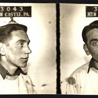 Small Town Noir – Twenty-One '30s and '40s Mugshots from New Castle, Pennsylvania